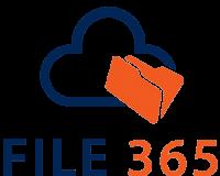 logo file365 met blauwe rand